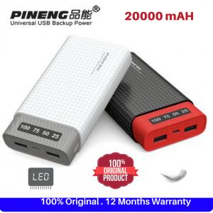 Pineng 20000mAh 10000% Original Powerbank