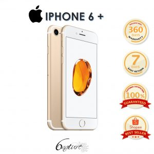 Used Apple Iphone 6S Plus 64gb Come With Adapter 100% Original Set Full Box(Gold)