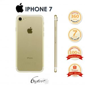 Used Apple Iphone 7 32gb Come With Adapter 100% Original Set Full box (Gold)