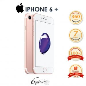 Used Apple Iphone 6S Plus 32gb Come With Adapter 100% Original Set Full Box(Rose Gold)