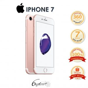 Used Apple Iphone 7 256gb Come With Adapter 100% Original Set Full Box(Rose Gold)